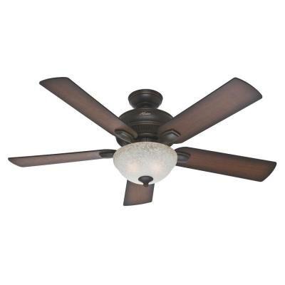 Matheston 52 in. Onyx Bengal Ceiling Fan