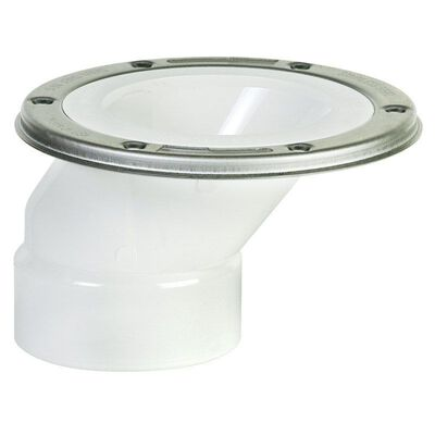 Sioux Chief FullFlush PVC Offset Closet Flange 3 in.