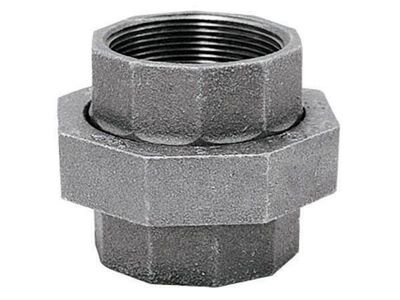 B & K 1 in. Dia. x 1 in. Dia. FPT To FPT Galvanized Malleable Iron Union