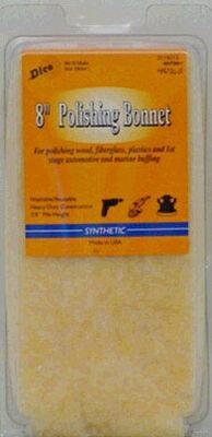 Dico 8 in. Dia. Synthetic Polishing Bonnet
