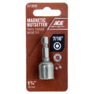 Ace 7/16 in. x 1-3/4 in. L Magnetic Nutsetter