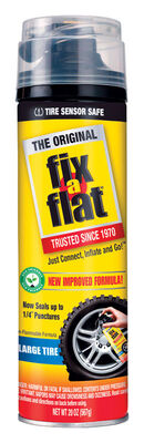 Fix-A-Flat Inflator and Sealer Large Tire 20 oz.