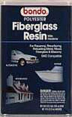 Bondo Fiberglass Resin Filler 1 gal. For Metal Wood Masonry & Fiberglass