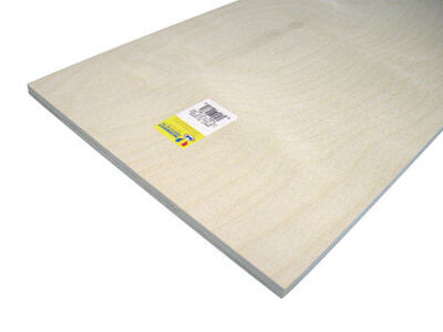 Midwest Products 1/2 in. x 1 in. W x 2 in. L Plywood Plywood