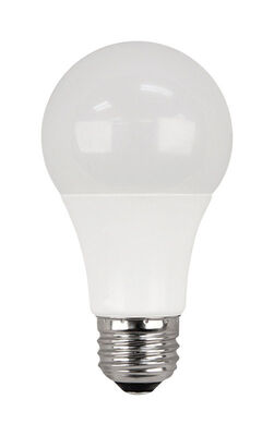 FEIT Electric LED Bulb 9 watts 800 lumens 2700 K A-Line A19 2 pk 60 watts equivalency