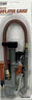 Tru-Flate Steel Inflator Gauge
