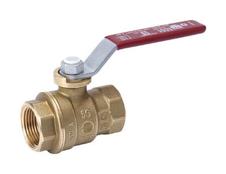 Mueller Ball Valve 2 in. FPT Brass Threaded