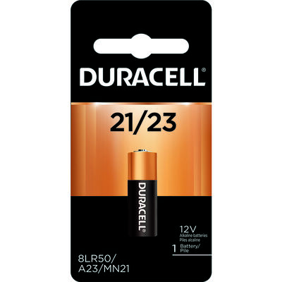 Duracell Alkaline 12 volts Security Battery 21/23