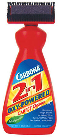 Carbona 2 in 1 Oxy Powered Carpet Cleaner Liquid 27.5