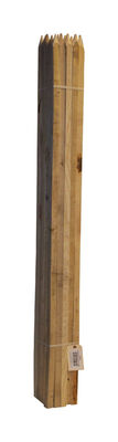 Bond Manufacturing Brown Wood Garden Stakes 6 ft. L x 3/4 in. W