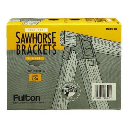 Fulton Sawhorse Brackets 2 in. H 400 lb.