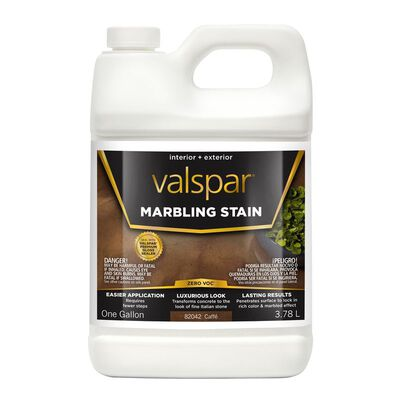 Valspar Water-Based Marbling Stain Cafe 1 gal.