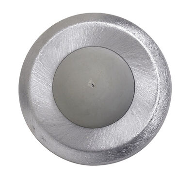 Tell Stainless Steel Wall Door Stop Satin Chrome Silver