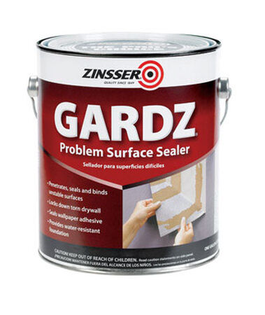 Zinsser Gardz Water-Based Interior Sealer 1 gal. Clear Matte