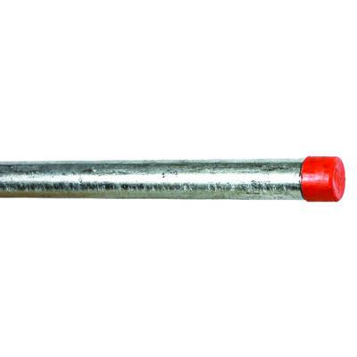 Ace 3/4 in. Dia. x 60 in. L Gray Galvanized Pre-Cut Pipe