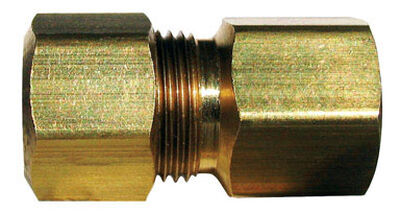 Ace 1/4 in. FPT Dia. x 1/2 in. FPT Dia. Brass Connector