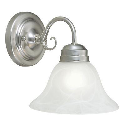 Millbridge 1-Light Wall Light, Satin Nickel #511618
