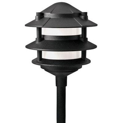 Paradise Low Voltage Pathway Light Black 11 watts 1 pk