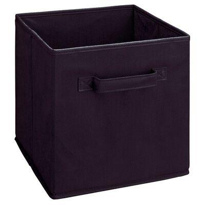 ClosetMaid 10-1/2 in. L x 11 in. H x 10-1/2 in. W Cubeical Drawer Black