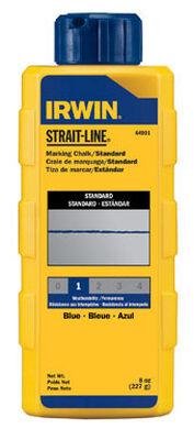 Irwin Strait-Line 8 oz. Blue Mason Line Chalk Permanent