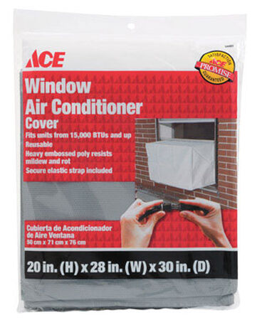 Ace 20 in. H x 28 in. W x 30 in. L Window Air Conditioner Cover
