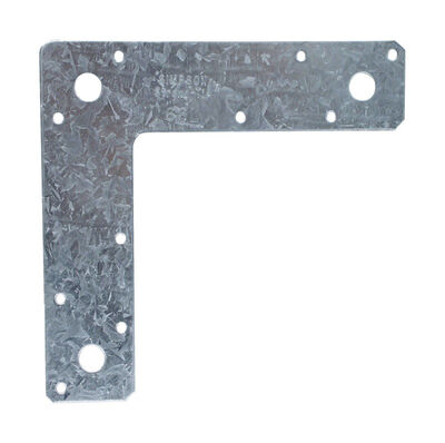 Simpson Strong-Tie Galvanized Steel L Strap 6 in. H x 1-1/2 in. W 14 Ga.