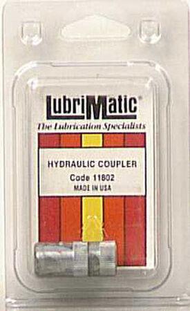 Lubrimatic Straight deg. Grease Gun Coupler 1