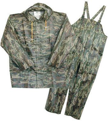 Boss Camouflage PVC-Coated Polyester Rain Suit Large