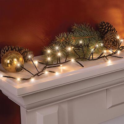 Celebrations Hanging LED Light Set Cool White 144 lights