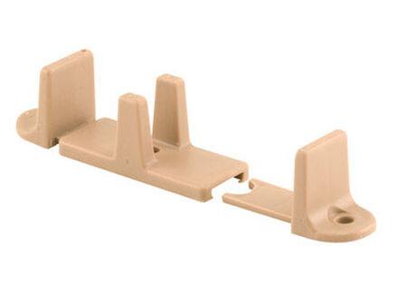 Prime-Line Floor mount Adjustable Floor Guide Tan 2 pk