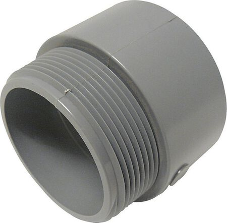 Cantex 2 in. Dia. PVC Male Adapter