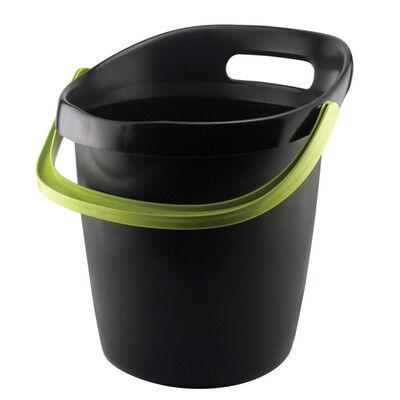 Leaktite 3-1/2 gal. Gripper Bucket Black