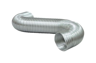 Deflect-O Jordan 7 in. Dia. x 8 ft. L Dryer and Vent Hose Aluminum