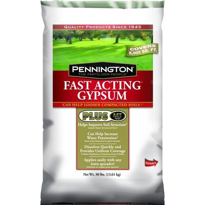 Encap Gypsum and Soil Conditioner 5 000 sq. ft. 30 lb. Organic