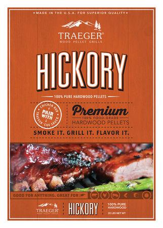 Traeger Hickory Wood Pellets 20 lb.