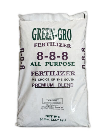 Fertilizer 8-8-8 50 lb