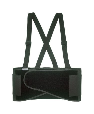CLC Black Elastic Back Support Belt 46 To 56