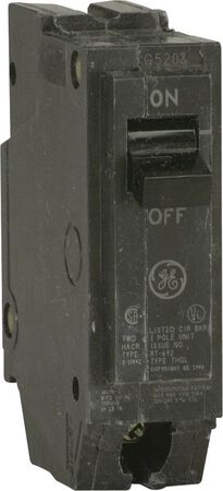 GE Q-Line Single Pole 20 amps Circuit Breaker