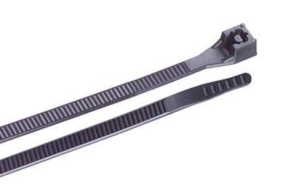 Gardner Bender 6 in. L Black Cable Tie 100 pk