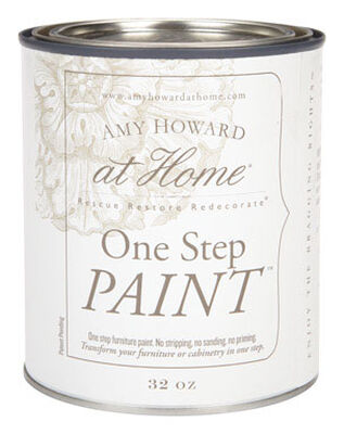 Amy Howard at Home Interior Latex One Step Furniture Paint Good Man Is Hard To Find Flat Chalk