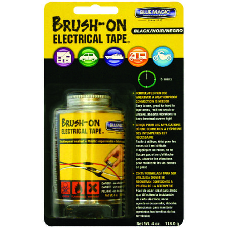 Blue Magic Liquid Brush-On Electrical Tape Black