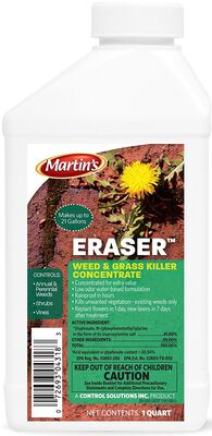 Martin's Eraser Weed and Grass Killer 32 oz.