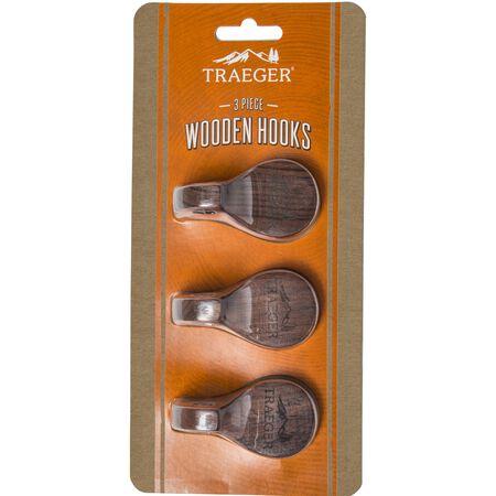 Traeger Wood Magnetic Hooks 3 pk
