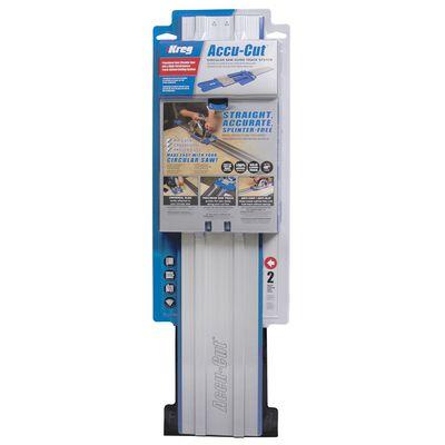 Kreg Tool Accu-Cut Circular Saw Guide Aluminum 26-1/2 in. For Wood