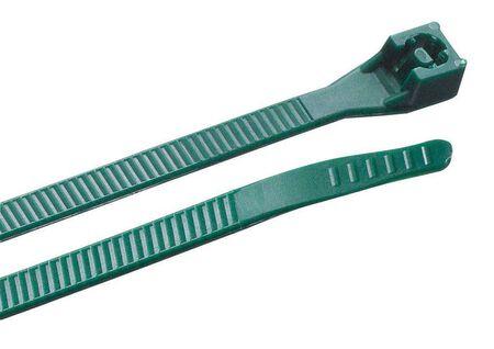 Gardner Bender DoubleLock 8 in. L Green Cable Tie 20 pk