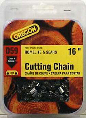 Oregon Chainsaw Chain 59 links 16 in. For Homelite 72V