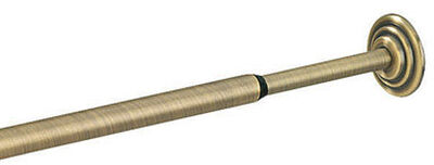 Umbra Coretto Tension Rod 36 in. L Nickel Black