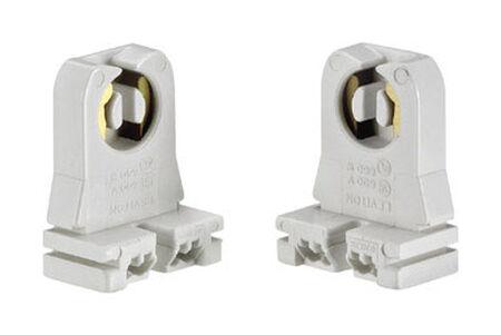 Leviton 660 watts Fluorescent Socket 600 volts White