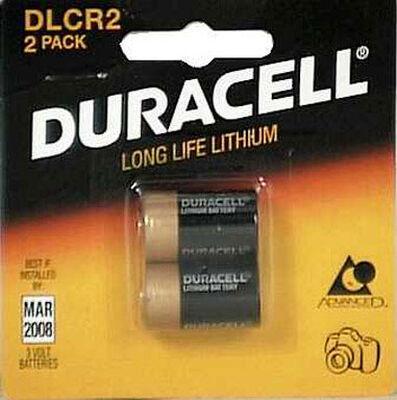 Duracell Ultra Lithium CR2 3 volts Camera Battery DLCR2B2PK