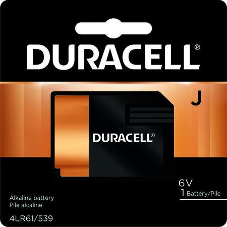 Duracell Alkaline J 6 volts Medical Battery 7K67B9K